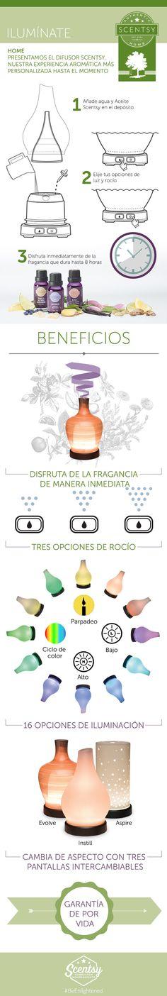 El mejor difusor de aceites esenciales. www.dennisevaz.scentsy.us dale like www.facebook.com/dennisevaz