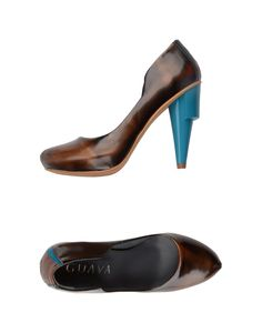 GUAVA Pump: eco-sustainable materials, modern design of architectural influences, and local manufacturing that marries craftsmanship and technology all ensure this footwear meets the highest standards of quality, $343.00 #masterandmuse #ambervalletta #yoox