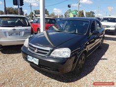 2006 Holden Viva JF Black Automatic 4sp A Sedan #holden #viva #forsale #australia