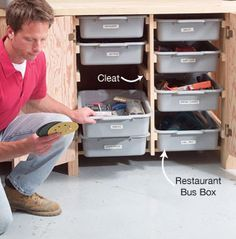Small Shop Tip: Instant Drawers - Woodworking Shop - American Woodworker