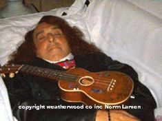 31 Photos from Celebrity Open Casket Funerals ~ TINY TIM 1996, Age 64