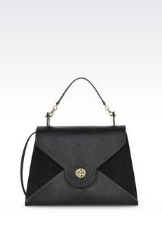 Bags: Top handles Women by Armani - 1. bag, сумки модные брендовые, bag lovers,bloghandbags.blogspot.com