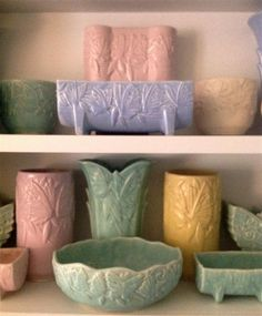 McCoy Pottery - butterfly collection