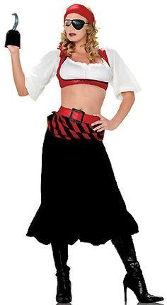 3f0ac699e43 Scurvy First Mate Pirate Costume