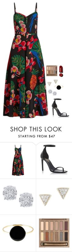 """""""Untitled #1080"""" by h1234l on Polyvore featuring Valentino, Yves Saint Laurent, Effy Jewelry, Adina Reyter, Isabel Marant and Urban Decay"""