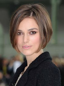 Pictures of Keira Knightley Short Bob Hairstyle. Get hairstyles ideas and inspiration with Keira Knightley Short Bob Hairstyle. Bob Haircuts For Women, Short Bob Haircuts, Short Hair Cuts For Women, Short Cuts, Haircut Short, Haircut Styles, Bob Cuts, Wedge Haircut, Haircut Designs