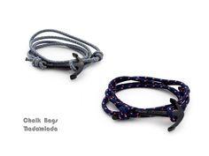 rope bracelet, survival bracelet, climber jewelry <3 www.nadamlada.com <3 #DifferenceMakesUs #men #menfashion #menbracelet #anchorbracelet #friendshipbracelet