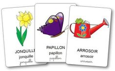 Imagier du printemps Educational Activities For Preschoolers, Software, Spring Activities, School Pictures, Learn French, More Fun, Montessori, Literacy, Kindergarten