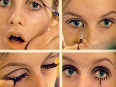 Mod Eye Makeup in Like Five Minutes from my favorite site in the world Rookiemag.com