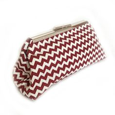 Coin Clutch (Maroon) from Revelry Dresses