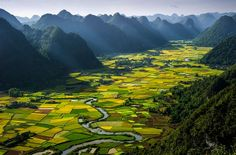 Smithsonian Magazine Announces Photo Contest Finalists: Alternating Rice Plots in the Bacson Valley Photo by Hai Thinh Hoang (Hanoi, Vietnam). Photographed in Bac Son, Lang Son, Vietnam, July Aerial Photography, Landscape Photography, Travel Photography, Stunning Photography, Nature Photography, Vietnam Voyage, Vietnam Travel, Hanoi Vietnam, North Vietnam