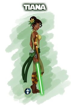 Jedi Disney Princess series - Tiana from The Princess and the Frog -- by white-magician on DeviantArt Film Disney, Disney Girls, Disney Love, Disney Magic, Disney Style, Princesa Tiana Disney, Disney Princess Tiana, Tangled Princess, Princess Rapunzel