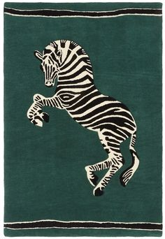 Zebra rug from the 'Desert Chic' collection by Milou Neelen x Sissy-Boy.