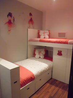 Cute idea for a little girl's room.