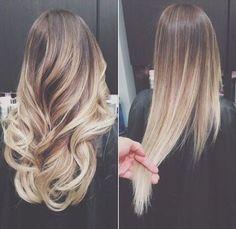 Cool Ash Blonde Hair Color blayage ombre | Ombre Saç Modelleri makalesine geri dön