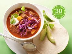 Get dinner on the table in a snap with healthy beat-the-clock meals like Spicy Pork Stew.