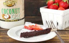 Try this flourless chocolate cake made with Golden Barrel Coconut Oil. it is simple to make as well as dairy-free, gluten-free, and refined sugar free.