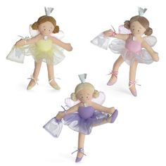 Tooth Fairy Dolls available in pink and purple for your favorite little girl! $12.00  Tooth Pirate available for boys. Find them and more great gifts at www.nobleniches.com #toothfairy #fairy #toothfairydoll #firsttooth #littlegirl #girlgift #toy #toys