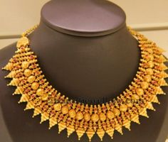 Jewellery Designs: Antique Tremendous Choker in New Pattern
