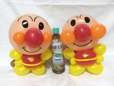 プロの人が作っていた巨大アンパンマンの作り方(バルーンアート)Balloon twisting Anpanman(麵包超人) - YouTube Balloon Cartoon, Cake Youtube, Rice Cakes, Camera Phone, Tweety, Rabbit, Balloons, Sculptures, Dolls