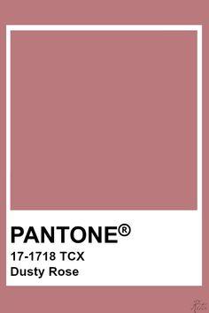 Pantone Swatches, Color Swatches, Pantone Colour Palettes, Pantone Color, Colour Pallette, Colour Schemes, Color Combinations, Carta Pantone, Dusty Rose Wedding