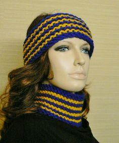 Men or Women Victory Headband EarWarmer Hat in by mckelveydalton, $15.00