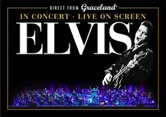 """Elvis: Live in Concert,"" an all-new concert production featuring #Elvis Presley on the big screen accompanied by a live orchestra, is coming to 12 cities this August.  See the tour dates now at Graceland.com/Tour."