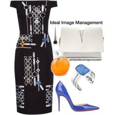 Ideal Image by jamilia-wallace on Polyvore featuring polyvore fashion style Peter Pilotto Christian Louboutin Jil Sander Kenneth Cole Hermès