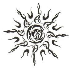 sun tattoo - Szukaj w Google