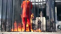 New ISIS video shows Jordanian pilot being burned alive. Is this Barbaric act teaching of  ? We need a word war to wipe out these criminals from the face of earth. Prayer List, Sharia Law, Persecution, The Real World, Videos, Prison, Burns, Beast, Islam