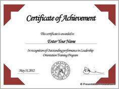 Free Award Templates Certificate Template Designred Ribbon Decoratevector .
