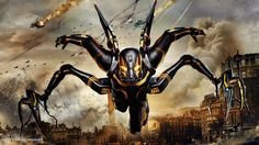 Yellow Jacket Antman Movie Fanart Walpaper by jeffery10