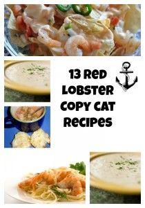 13 Red Lobster Copy Cat Recipes | CopyKat Recipes | Restaurant Recipes