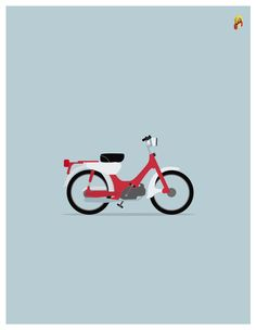 TOWN MOTORCYCLES by Gonzalo Rodriguez, via Behance
