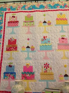 10 Best Birthday Cake Quilts Images
