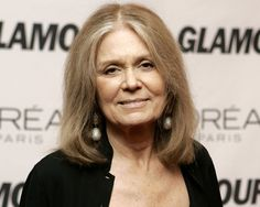 Gloria Steinem...not just another pretty face.  One of the intellectual powerhouses behind equal rights for women.