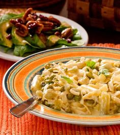 Pasta with Lima beans and lemon:  Parmesan makes such a difference in this dish...