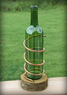 Backyard Tiki Torch - Use Refrigerator Tubing