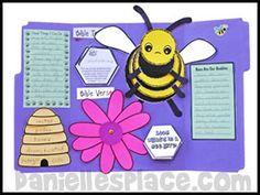 Bee Lapbook Homeschool Studies