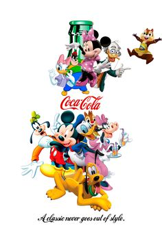 Echa un vistazo a mi proyecto @Behance: \u201cDisney Coke\u201d https://www.behance.net/gallery/48103313/Disney-Coke