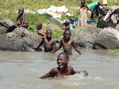 My husband and I lived in Kisumu for two years. Scenes like this were common. Lake Victoria - Kisumu, Nyanza