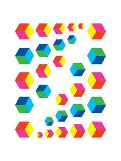 Chromatic Causeway (2009) - Geometric Art Prints by Gary Andrew Clarke