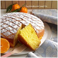 Torta+soffice+al+mandarino