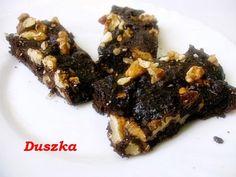 Edyta w kuchni: Batoniki brownie...