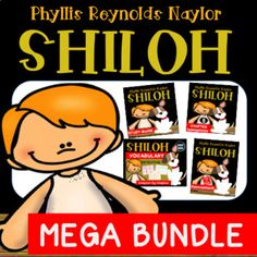 This Mega Bundle includes everything you need to teach the novel, Shiloh, by Phyllis Reynolds Naylor. Excellent for differentiated instruction and guided reading!Bundle includes:50 page Student Study Guide Comprehension Questions 110 Vocabulary Detective Worksheets100+ Vocabulary Word Cards 8 Chapter AssessmentsEnd of Novel AssessmentAnswer Keys included for ALL!