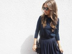 Perfect navy blue | Aniela Noelle