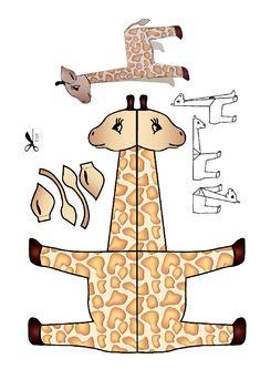 Zürafa kalıbı etkinlikleri çalışma sayfası, kalıpları etkinliği çalışmaları örnekleri sayfaları kağıdı yazdır, çıkart, indir.
