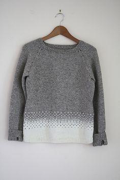 Beautifully ready for winter: Katie pattern by Karen Borrel