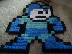 We All Need 8-Bit Crocheted Video Game Rugs