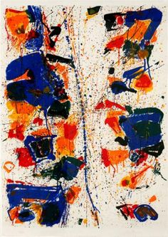 The White Line - Sam Francis